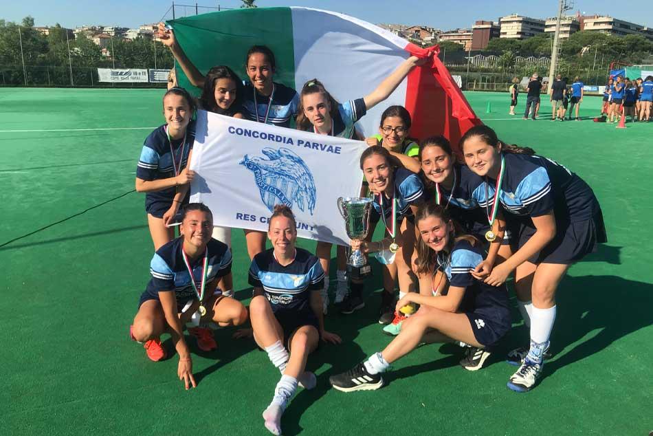 Lazio Campione d'Italia Under 21 femminile